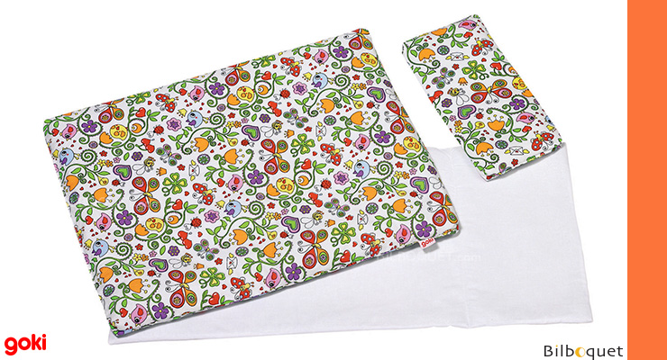 Bedding Set for dolls - Flower Patterns Goki