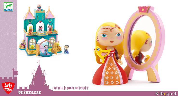 Nina & Ze mirror - Arty Toys Tales and legends Djeco