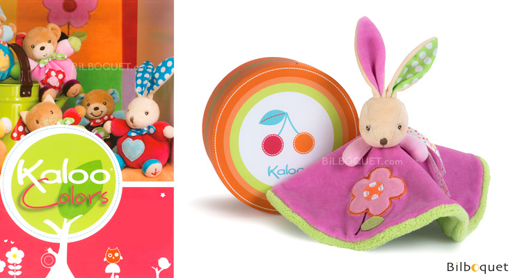 Round doudou rabbit - Kaloo Colors Kaloo