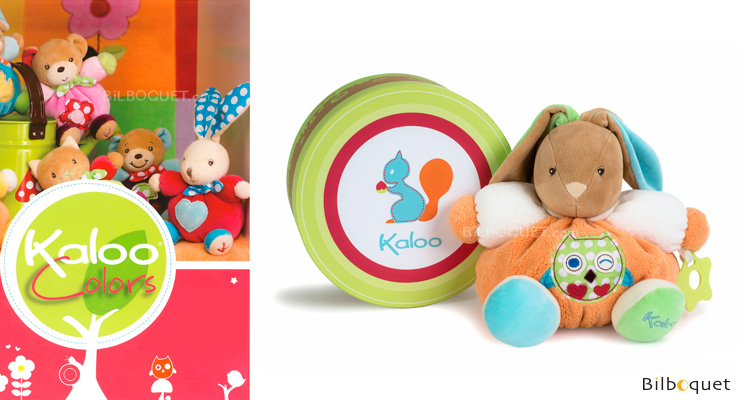 Medium chubby rabbit Owl - Kaloo Colors Kaloo