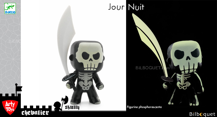Skully - Phosphorescent - Arty Toys Knights Djeco