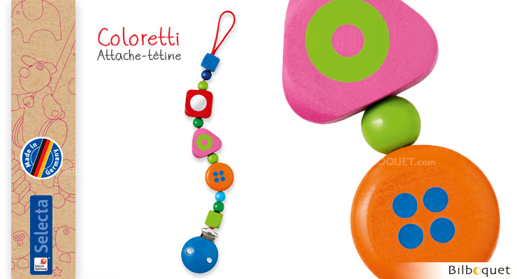 Wooden Pacifier Coloretti Selecta
