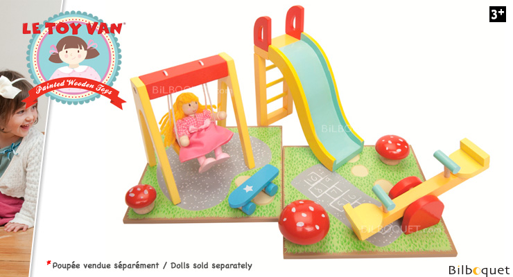 Outdoor Playset Accessories for Dollhouses Le Toy Van