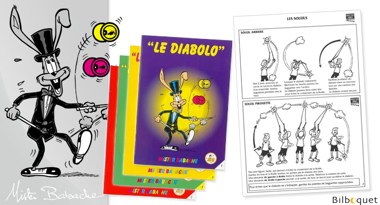 DIABOLO - Juggling Booklet by Mister Babache Mister Babache
