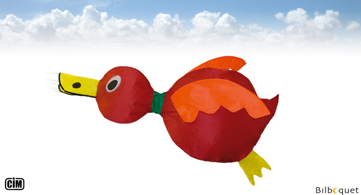 Ducky Decorative Windsock - Red Colours in Motion