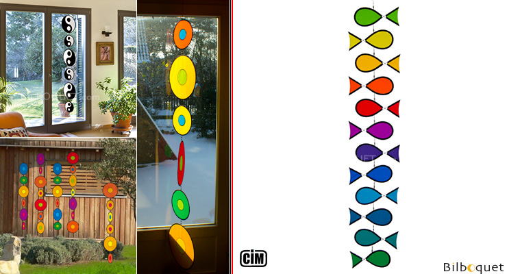 Tambouri Fish - Mobile for indoor/outdoor Colours in Motion