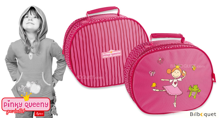 Petite valise pour jouer et voyager - Pinky Queeny Sigikid