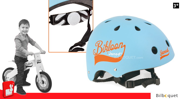 Blue Helmet for kid Bikloon Janod