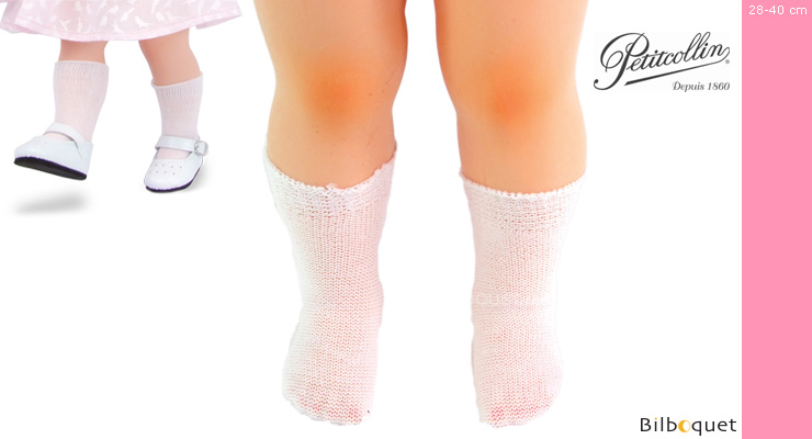 Pair of White Socks - Petitcollin Petitcollin