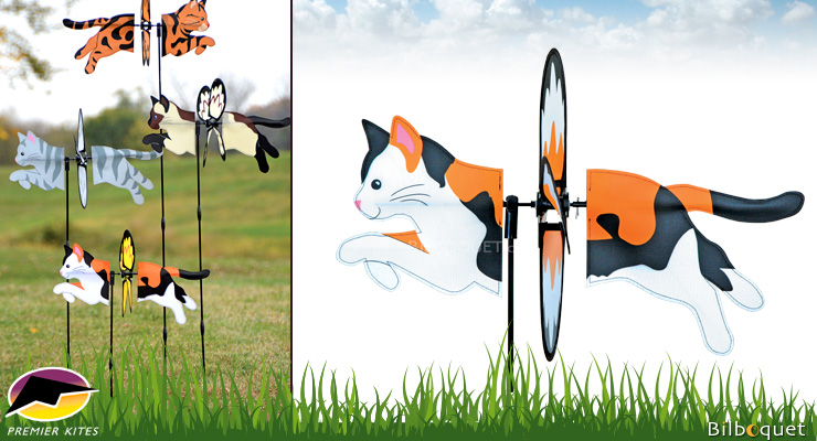 Petite Spinner Calico Cat 48cm Premier Kites & Designs
