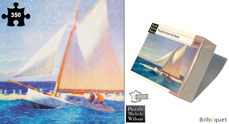 The Sailboat - Wooden Art Puzzle Puzzle Michèle Wilson