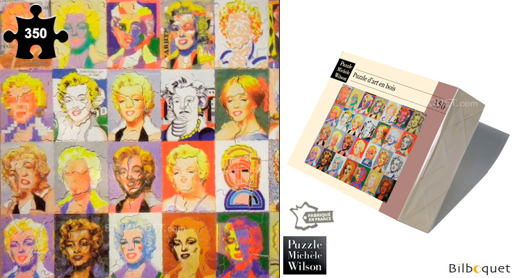 Marylin Monroe - Paul Giovanopoulos - Wooden Art Puzzle Puzzle Michèle Wilson