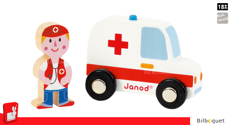 Story Set Firefighters - Ambulance and Doctor Janod