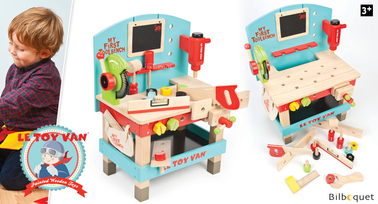 My first tool bench - Wooden Toy Le Toy Van