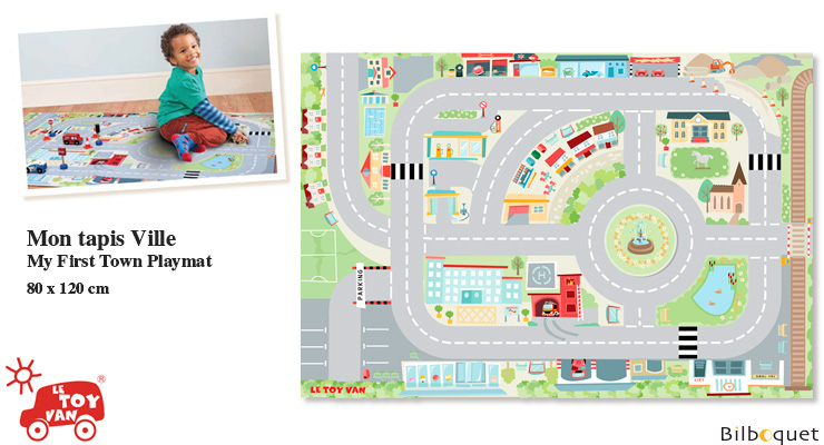 My First Town Playmat Le Toy Van