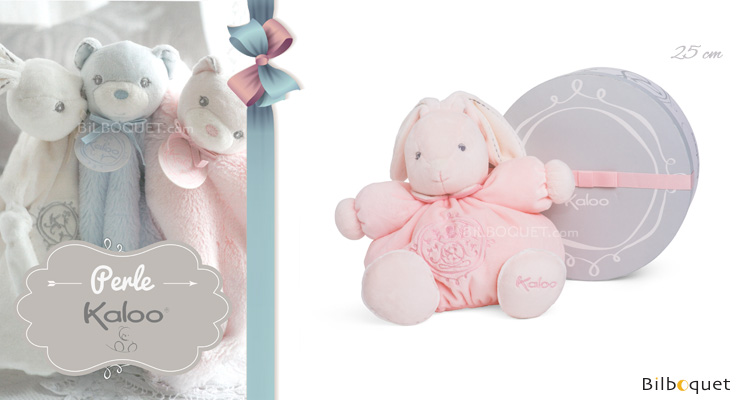 Medium Chubby rabbit pink - Perle by Kaloo Kaloo