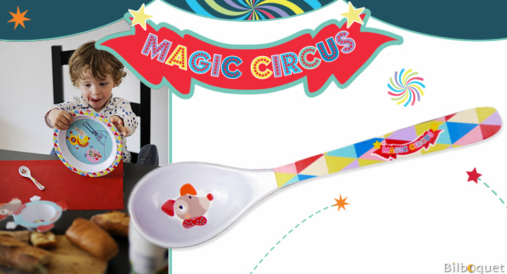 Tea Spoon - Melamine Tableware - Magic Circus Ebulobo