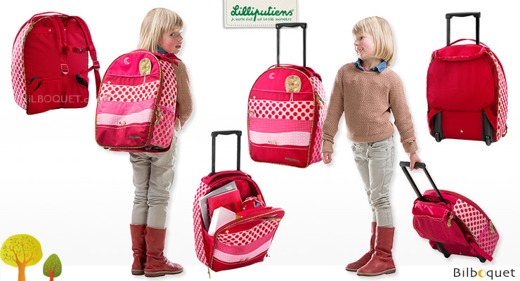 cartable a roulettes sac dos lizv p