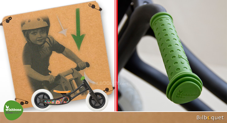colourful Wishbone Hand Grips green Wishbone Design