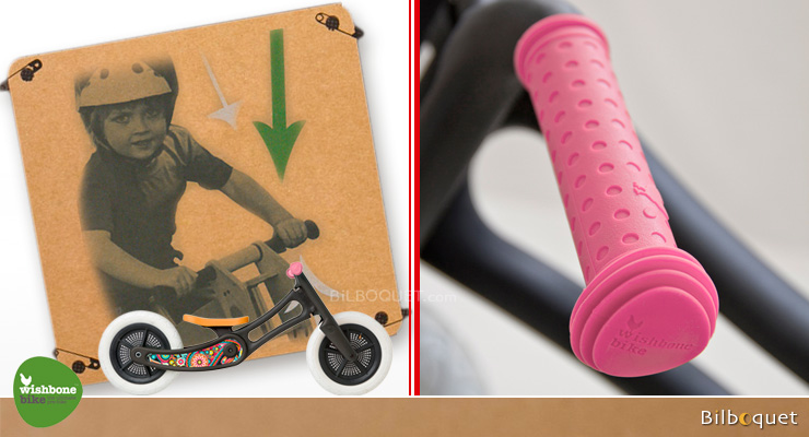 colourful Wishbone Hand Grips pink Wishbone Design