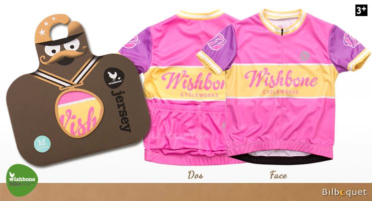 Wishbone Jersey Pink size M: 3-4 years Wishbone Design