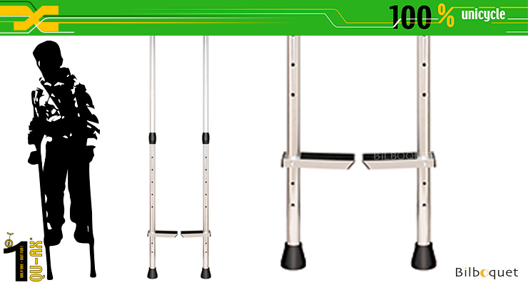 QU-AX Aluminium Stilts - Adjustable QU-AX