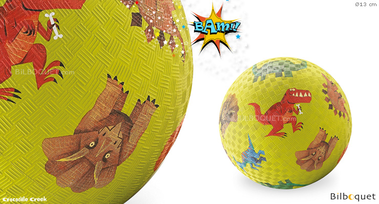 Dinosaurs Small Playground Ball Ø13 cm Crocodile Creek