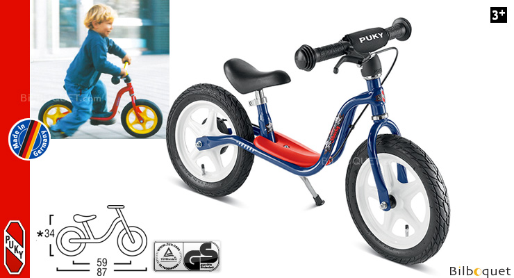 Kids learner bike LR 1L Br with brake Capt'n Sharky Puky