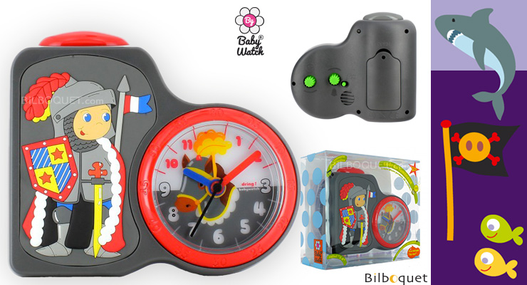 Dring Clock Knight - Led-light dial Babywatch