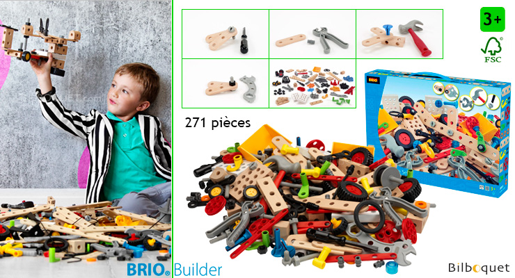 Builder Creative Set (271 pieces) BRIO
