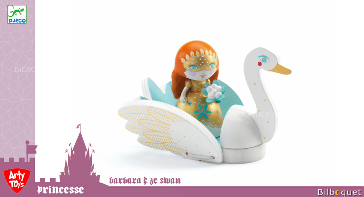 Princess Barbara & Ze Swan - Arty Toys Tales and legends Djeco