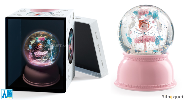 Ballerina Night Light - Snow Globe Little Big Room by Djeco