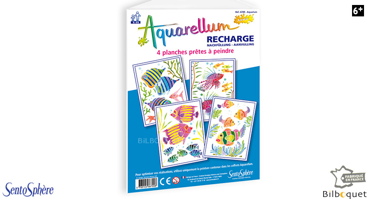 Recharge Aquarellum Junior - Aquarium SentoSphère