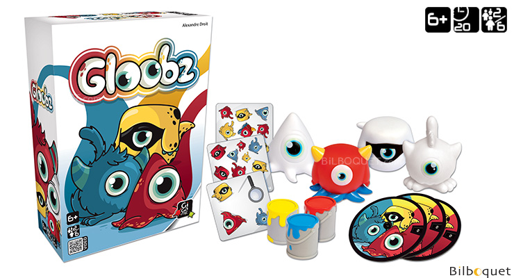 Gloobz - Game of Observation and Quick thinking Gigamic