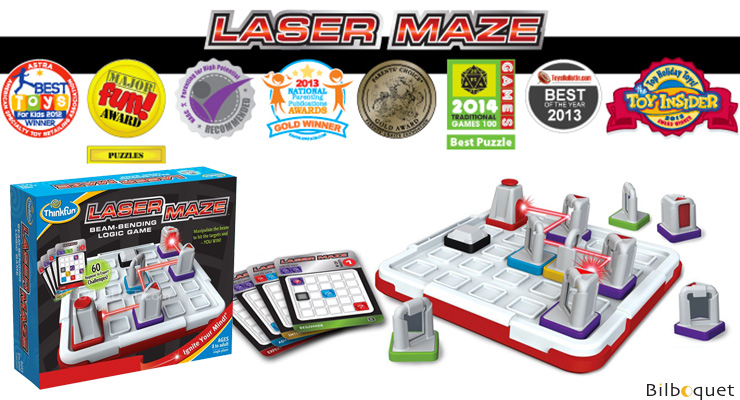 Laser Maze - Multi-level Logic Game ThinkFun