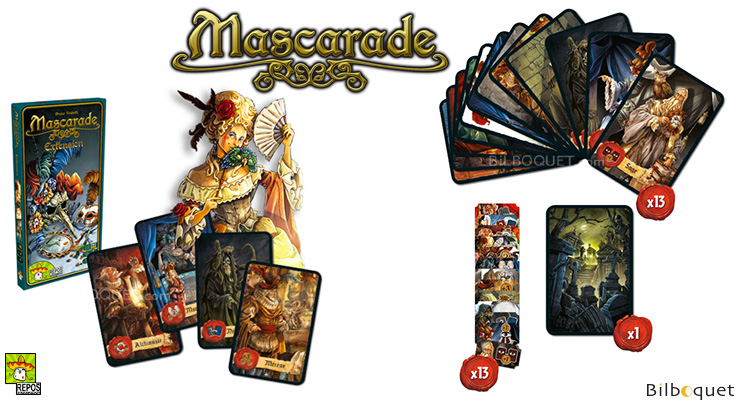 Mascarade Expansion Repos Production