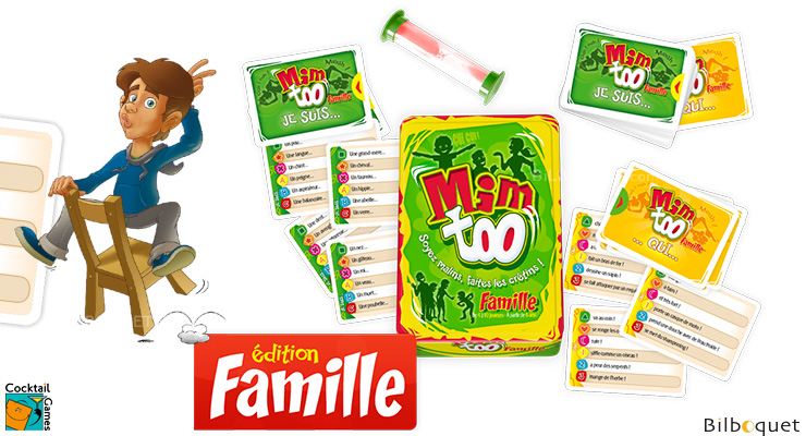 Mimtoo famille - Game of mimes Cocktail Games