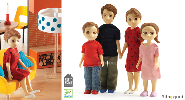 Thomas & Marion Family - Petit Home by Djeco Djeco