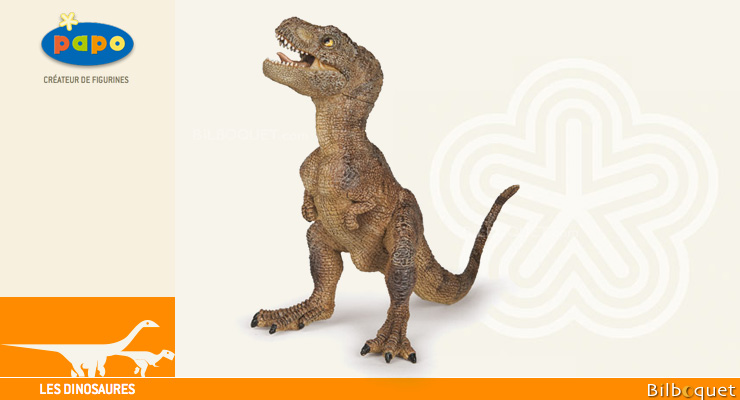 Baby T-Rex - Brown - Toy Figurine Papo