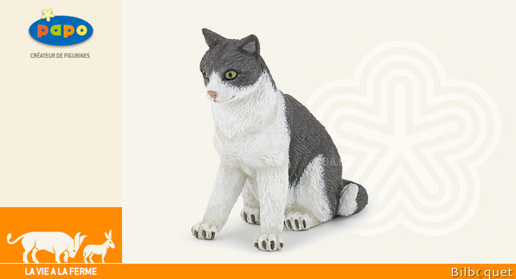 Chatte assise - Figurine Papo Papo