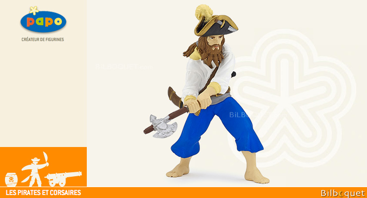 Corsair with axe - Pirates and Corsairs Figurine Papo