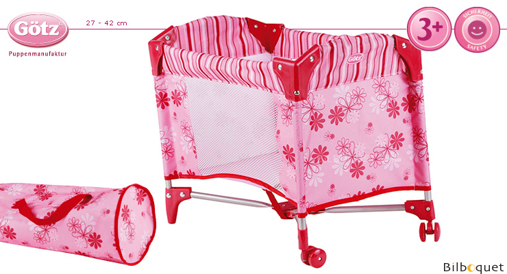 Travel Cot - Folding Bed for dolls - Götz Boutique Götz Dolls