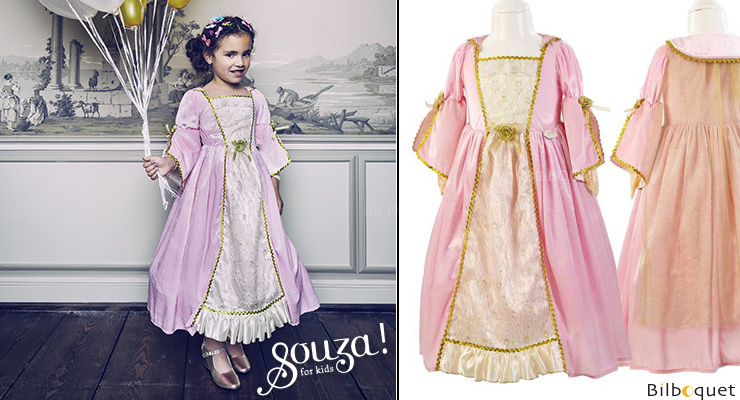 Robe Cathalina - Déguisement fille 5-7 ans Souza for kids