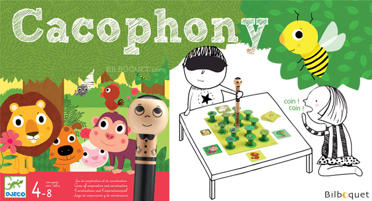 Cacophony Game of cooperation and coordination Djeco
