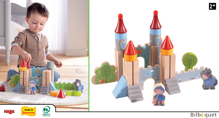 Knight's Castle - Wooden Play Blocks Haba