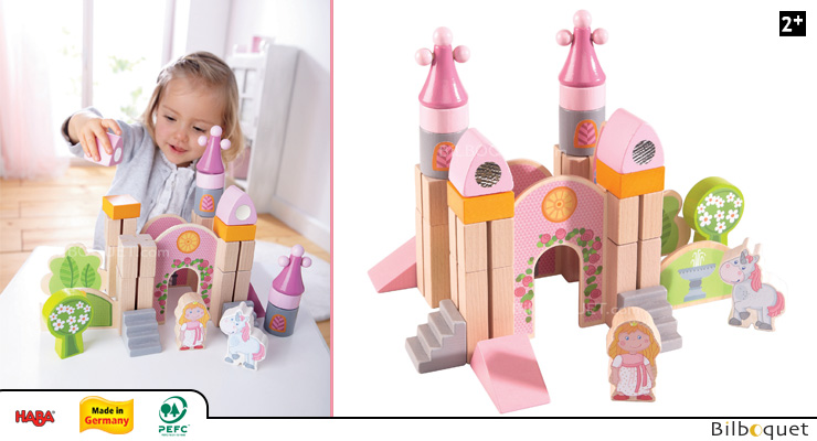 Enchanted Castle - Wooden Play Blocks Haba