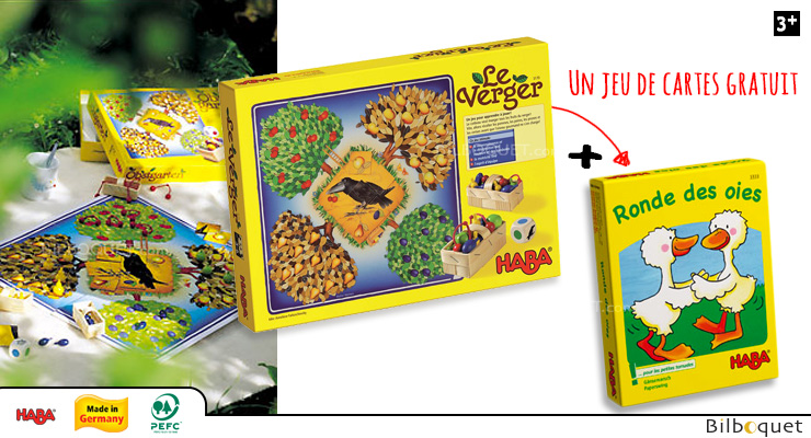 The Orchard Special Edition with FREE game of cards Haba