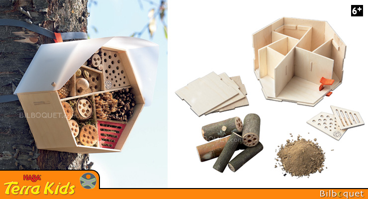 Insect Hotel - Assembly kit - Terra Kids Haba