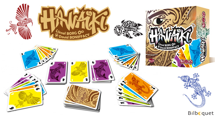 Hawaïki - Game of cards Ilopeli