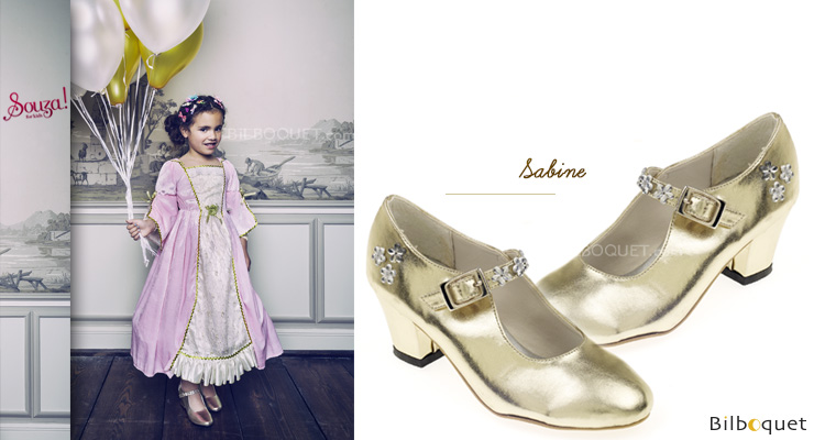 Shoes Sabine - Accessory for kids costumes size 32 Souza for kids
